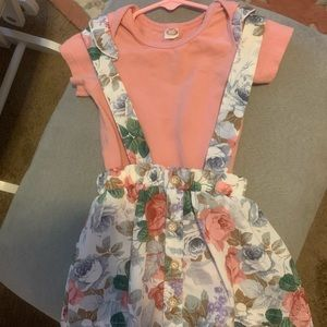 Other - 2 piece onsie and jumper dress